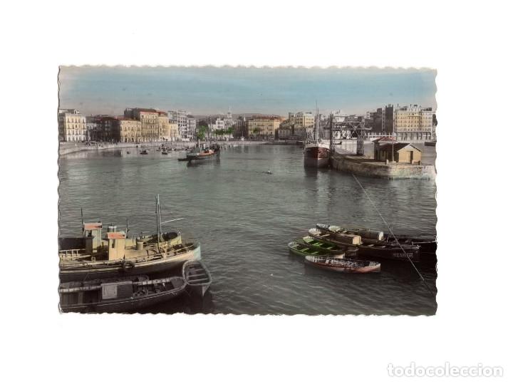 GIJÓN.(ASTURIAS).- PUERTO HARBOUR. (Postales - España - Asturias Antigua (hasta 1.939))