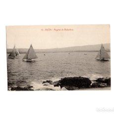 Postales: GIJÓN.(ASTURIAS).- REGATAS DE BALANDROS.. Lote 177426225