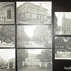 Postales: OCHO POSTALES DE OVIEDO. FOTOTIPIA THOMAS. PRINCIPIOS SIGLO XX.. Lote 177828940