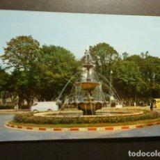 Postales: AVILES ASTURIAS FUENTE LUMINOSA. Lote 178240272