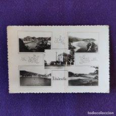 Postales: POSTAL DE RIBADESELLA (ASTURIAS). 5 VISTAS. AÑOS 50. Lote 178285391
