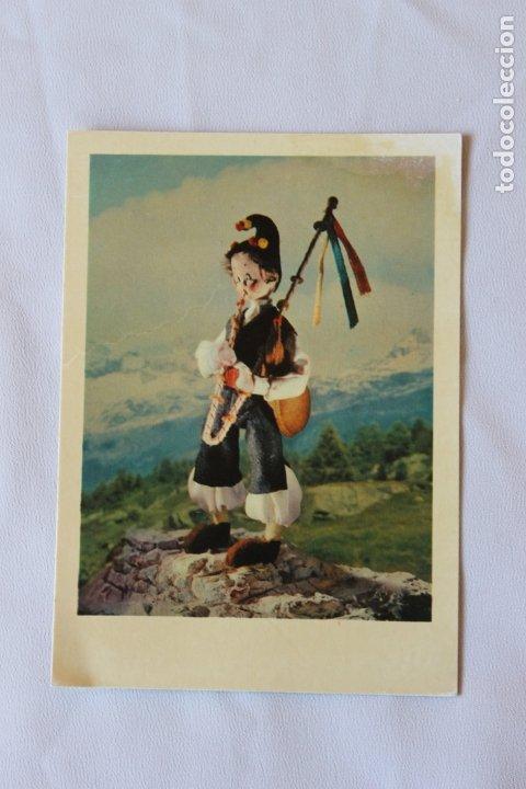 POSTAL ASTURIAS TRAJE TIPICO REGIONAL, MUÑECOS NISTIS, (Postales - España - Asturias Moderna (desde 1.940))