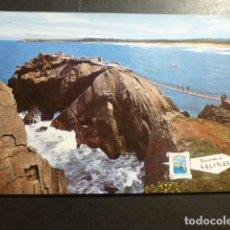 Postales: SALINAS ASTURIAS PASARELA Y MIRADOR. Lote 178624235