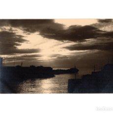 Postales: LLANES.- ATARDECER. F.ROZASOSTAL FOTOGRÁFICA. F.ROZAS.. Lote 178689940