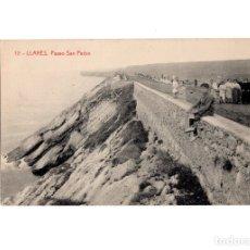 Postales: LLANES.(ASTURIAS).- PASEO SAN PEDRO.. Lote 178709978