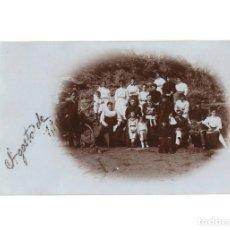 Postales: LUARCA.(ASTURIAS).- POSTAL FOTOGRÁFICA. AGOSTO 1906.. Lote 178710520