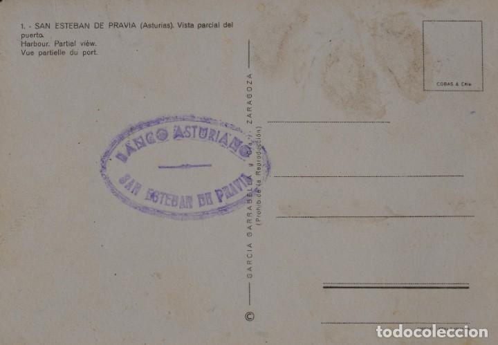 Postales: SAN ESTEBAN DE PRAVIA. Postal antigua - Foto 2 - 178723968