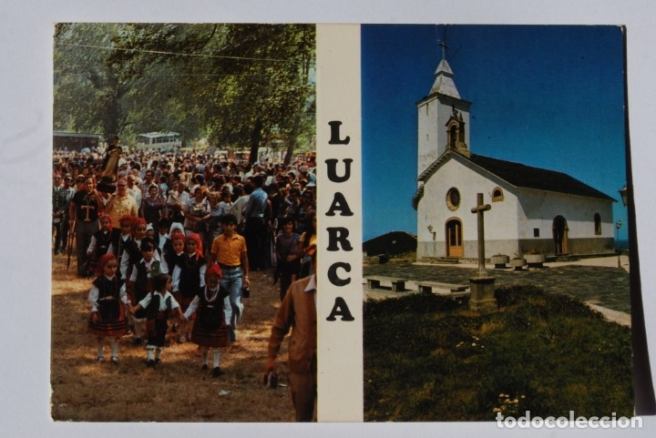 LUARCA. POSTAL ANTIGUA (Postales - España - Asturias Antigua (hasta 1.939))