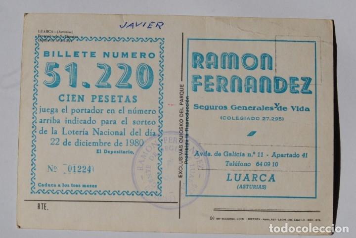 Postales: LUARCA. Postal antigua - Foto 2 - 178752578