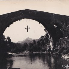 Postales: CANGAS DE ONIS (ASTURIAS) - PUENTE ROMANO. Lote 178949128
