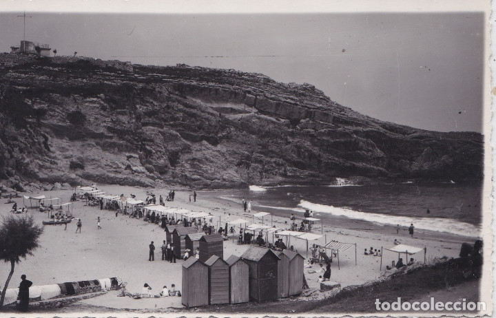 LLANES - (ASTURIAS) - PLAYA - FOTOGRAFICA (Postales - España - Asturias Moderna (desde 1.940))