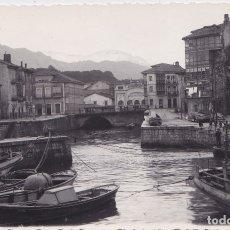 Postales: LLANES - (ASTURIAS) - PUERTO - FOTOGRAFICA. Lote 179032592