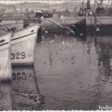 Postales: AVILES - (ASTURIAS) - PUERTO - FOTOGRAFICA. Lote 179032800