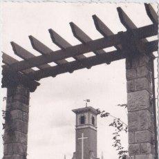 Postales: AVILES - (ASTURIAS) - IGLESIA DE ENSIDESA - FOTOGRAFICA. Lote 179032940