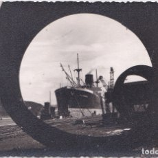 Postales: AVILES - (ASTURIAS) - MUELLE DE RAICES - FOTOGRAFICA. Lote 179033108