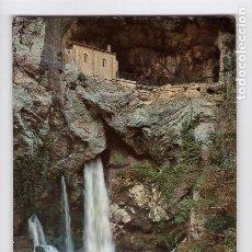 Postales: Nº 1 COVADONGA. GRUTA DE LA VIRGEN Y CASCADA -EDICIONES SICILIA-. Lote 179086912