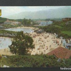 Postales: POSTAL SIN CIRCULAR - CELORIO 89 - LLANES - ASTURIAS - PLAYA - EDITA ESCUDO DE ORO. Lote 179126907