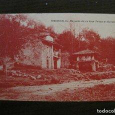 Postales: RIBESEYA-RIBADESELLA-MARGENES DEL RIO VEGA-ED·JESUS DELGADO-SELLO CENSURA MILITAR-VER FOTOS-(63.133). Lote 179312115