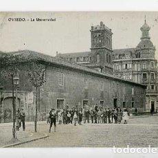 Postales: ASTURIAS OVIEDO LA UNIVERSIDAD M.G. ED. E.J.G. SIN CIRCULAR. Lote 179331268