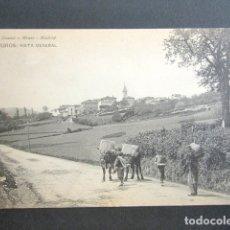 Postales: POSTAL ASTURIAS. MUROS DE NALÓN. VISTA GENERAL. . Lote 179402630