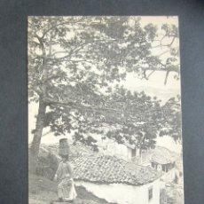 Postales: POSTAL ASTURIAS. SAN ESTEBAN DE PRAVIA. SUBIDA AL CASTAÑEU. . Lote 179402783