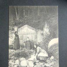 Postales: POSTAL ASTURIAS. SAN ESTEBAN DE PRAVIA. FUENTE DE ROQUE. . Lote 179402908