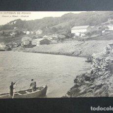 Postales: POSTAL ASTURIAS. SAN ESTEBAN DE PRAVIA. . Lote 179403022
