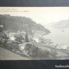 Postales: POSTAL ASTURIAS. SAN ESTEBAN DE PRAVIA Y LA ARENA. . Lote 179403056