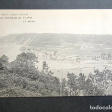 Postales: POSTAL ASTURIAS. SAN ESTEBAN DE PRAVIA Y LA ARENA. . Lote 179403088