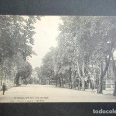 Postales: POSTAL ASTURIAS. OVIEDO. PASEO DEL BOMBÉ. . Lote 179403488