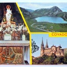 Postales: 16.370 TARJETA POSTAL COVADONGA ASTURIAS , ED. PERGAMINO , SIN CIRCULAR. Lote 180251573