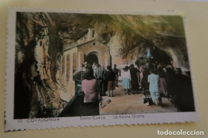 COVADONGA SANTA CUEVA 52 (Postales - España - Asturias Moderna (desde 1.940))