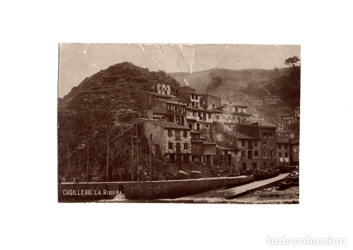 CUDILLERO.(ASTURIAS).- LA RIBERA. (Postales - España - Asturias Antigua (hasta 1.939))