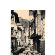 Postales: CUDILLERO.(ASTURIAS).- UNA CALLE.. Lote 181328087
