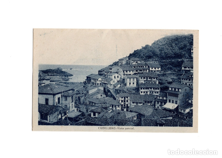 CUDILLERO.(ASTURIAS).- VISTA PARCIAL. (Postales - España - Asturias Antigua (hasta 1.939))