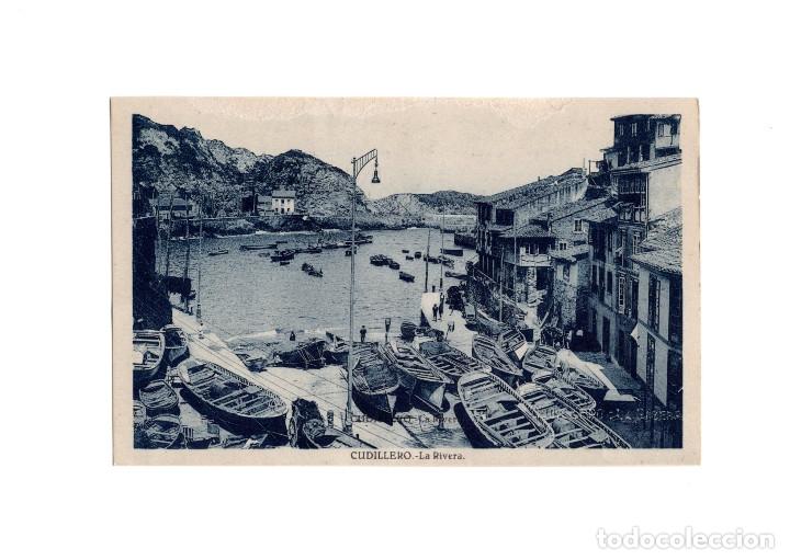 CUDILLERO.(ASTURIAS).- LA RIVERA. (Postales - España - Asturias Antigua (hasta 1.939))