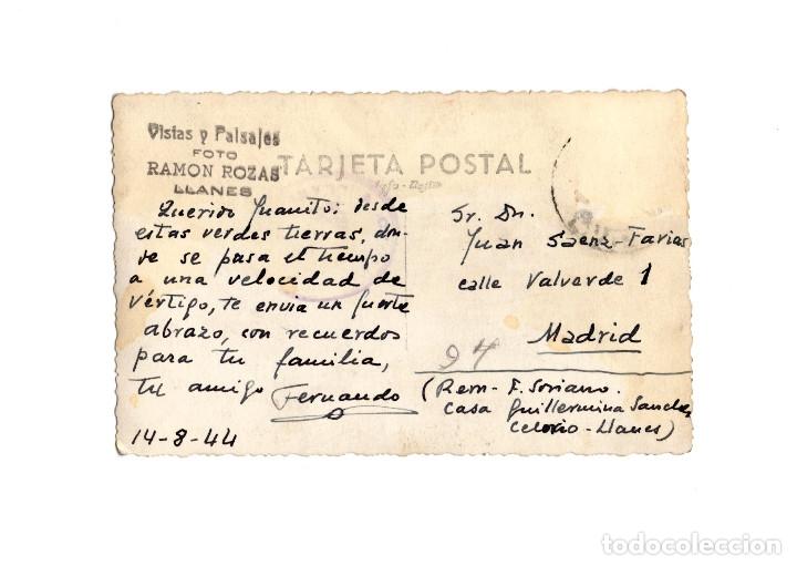 Postales: LLANES.(ASTURIAS).- POSTAL FOTOGRÁFICA.- FOTO ROZAS. - Foto 2 - 181334952
