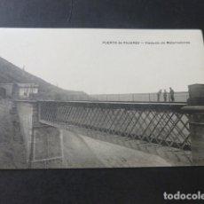 Postales: PUERTO DE PAJARES ASTURIAS VIADUCTO DE MATARREDONDA FERROCARRIL. Lote 181338043