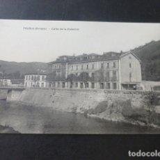 Postales: TRUBIA ASTURIAS CALLE DE LA ESTACION. Lote 181338888