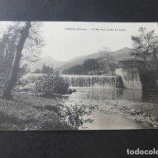 Postales: TRUBIA ASTURIAS EL MACHÓN SALTO DE AGUA. Lote 181339102