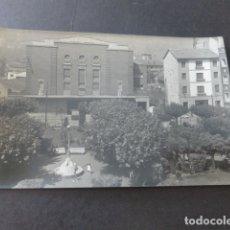 Postales: MIERES ASTURIAS JARDINES DEL AYUNTAMIENTO Y TEATRO CAPITOL POSTAL ED. ALARDE. Lote 181340957