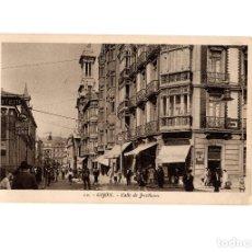 Postales: GIJÓN.(ASTURIAS).- CALLE DE JOVELLANOS.. Lote 181519681