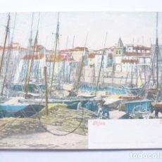 Postales: DARSENA GIJON. Lote 182072933