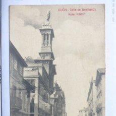 Postales: GIJON CALLE JOVELLANOS. Lote 182075582