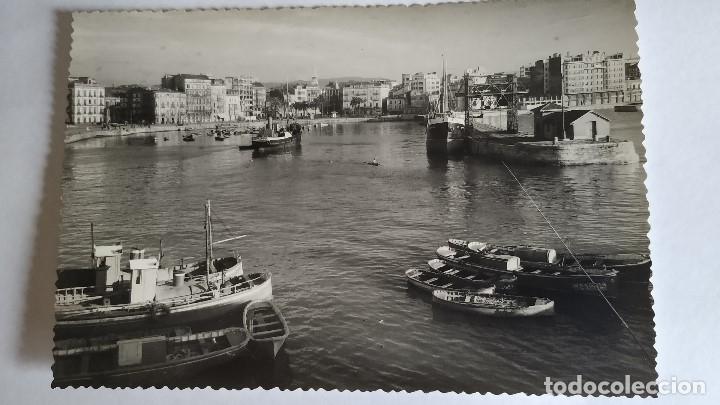 GIJON.PUERTO.FOTOGRÁFICA (Postales - España - Asturias Moderna (desde 1.940))