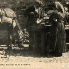 Postales: ASTURIAS MERCADO DE LES MADREÑES. Lote 182496131