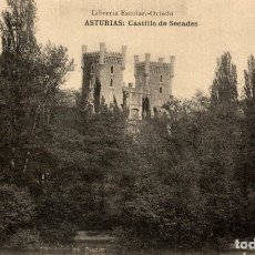 Postales: ASTURIAS. CASTILLO DE SECADES. Lote 182496276