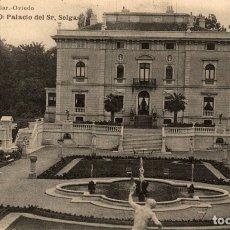 Postales: CUDILLERO EL PITO. PALACIO DEL SR SELGAS. Lote 182496478
