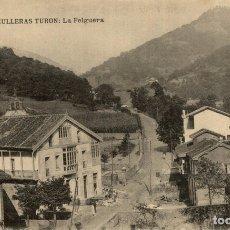 Postales: HULLERAS DE TURON (ASTURIAS).- LA FELGUERA. Lote 182496777
