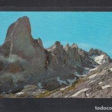 Postales: PICOS DE EUROPA - 47. NARANJO DE BULNES. CARA OESTE Y VEGA DE URRIELLU. Lote 182563286